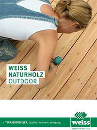 pdf catalog Weiss Natural Wood Outdoor