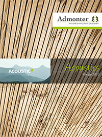 pdf catalog Admonter Acoustic