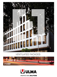 pdf catalog ULMA Ventilated Facades
