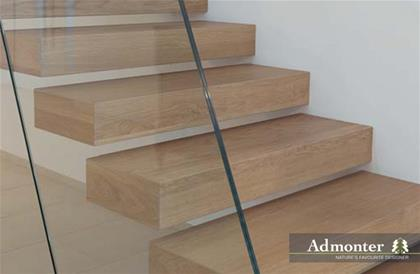 Admonter Stairs Oak White