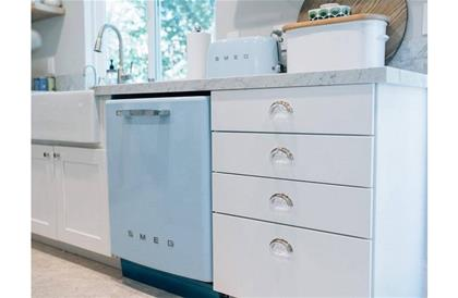 Retro Style Built-in Dishwasher