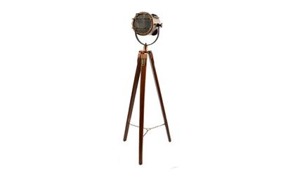 چراغ سه پایه دکوراتیو Medium Tripod Rosegold