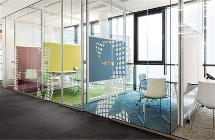 Partitioning  Screens  RG Glass wall