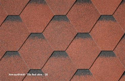 Armourshield Tile Red Ultra