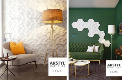 Wallpanels Coral دیوارپوش