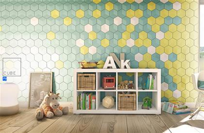 Wallpanels Cube دیوارپوش